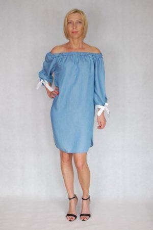 Sukienka tunika jeansowa Melanera