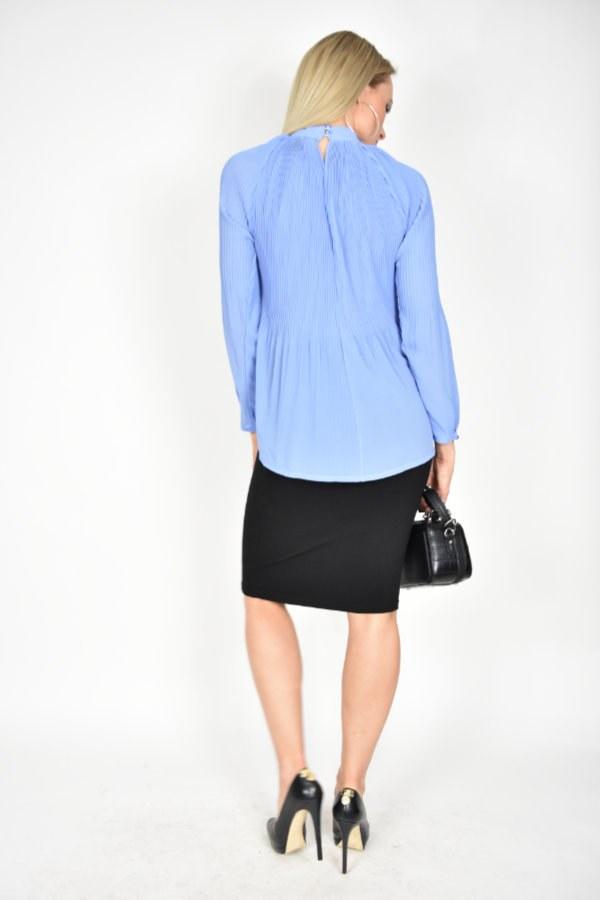 9d7422b7 Bluzka tunika plisowana Miss Miss