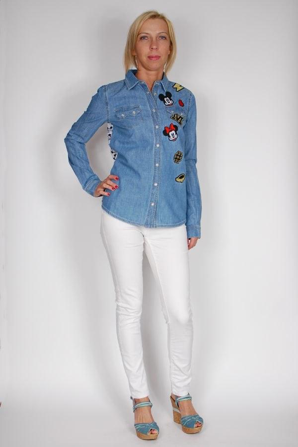 0935996d5d7b02 Koszula jeansowa z Myszką Miki - sklep internetowy Dolce Vita Boutique