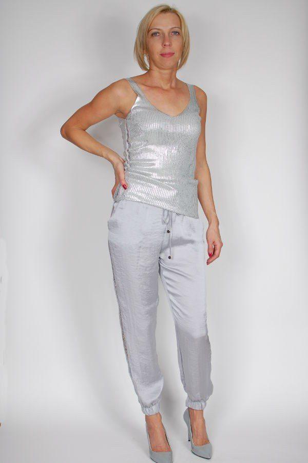 dd2424bcc Top Rinascimento srebrny - sklep internetowy Dolce Vita Boutique