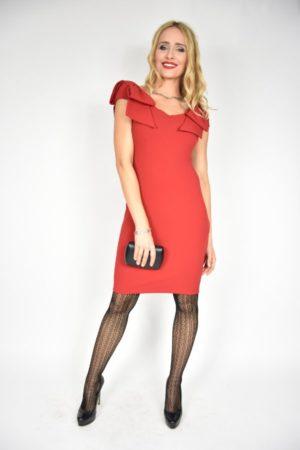 Sukienka Kokarda Rinascimento czerwona