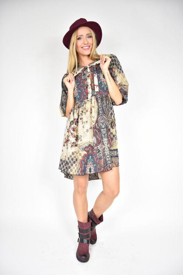 e447fd856e Sukienka boho Rinascimento - sklep internetowy Dolce Vita Boutique