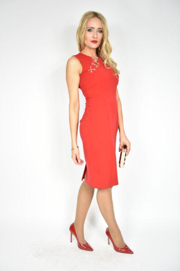 Sukienka sznurowana Rinascimento