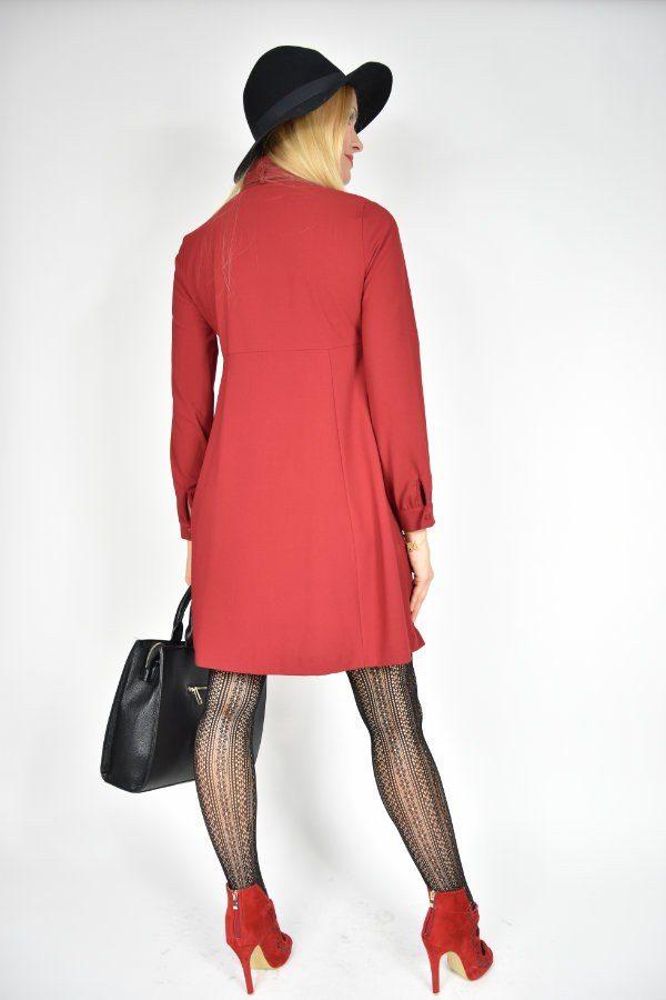 Sukienka Pensjonarka Vicolo czerwona