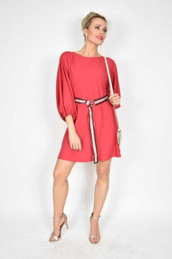 07b1ab57acb98c Sukienka z paskiem Imperial - sklep internetowy Dolce Vita Boutique