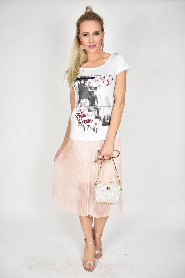 9be5ca1c8 T-shirt Dreams Rinascimento - sklep internetowy Dolce Vita Boutique