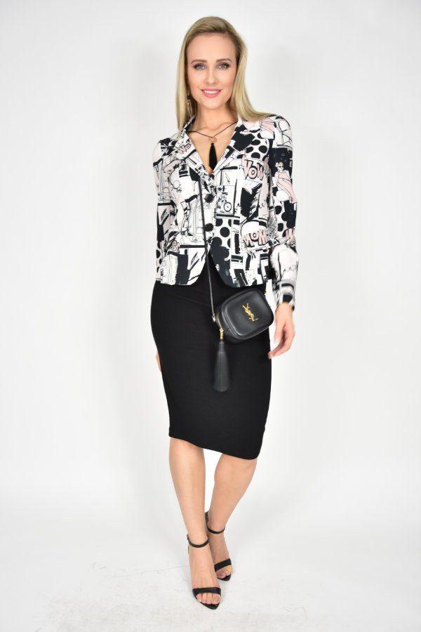 ad8f938ebf9e4d Spódnica ołówkowa czarna Vicolo - sklep internetowy Dolce Vita Boutique