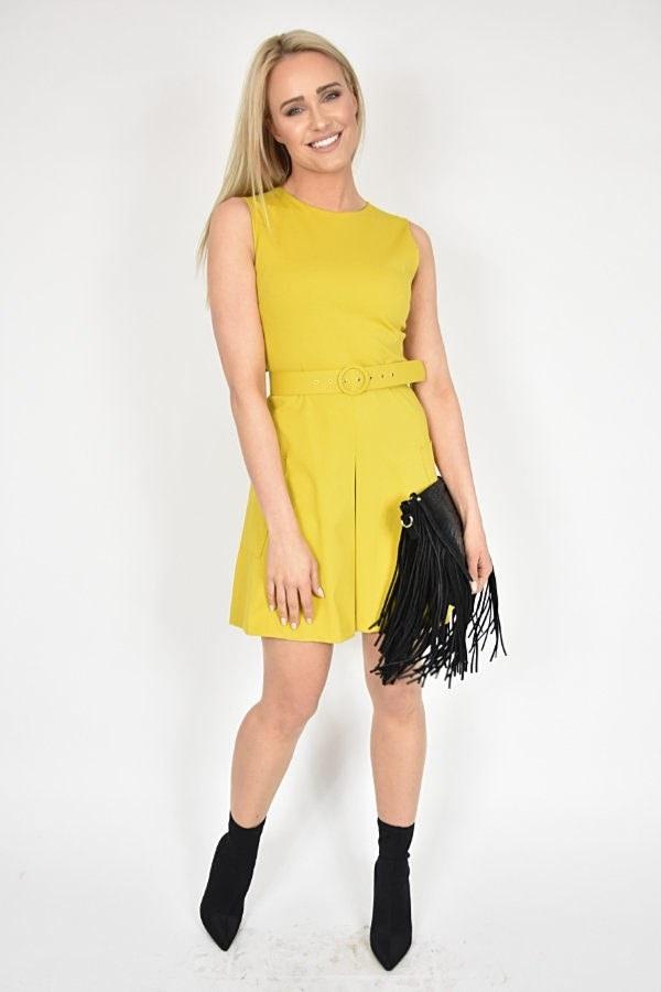 Sukienka Nicola Rinascimento żółta