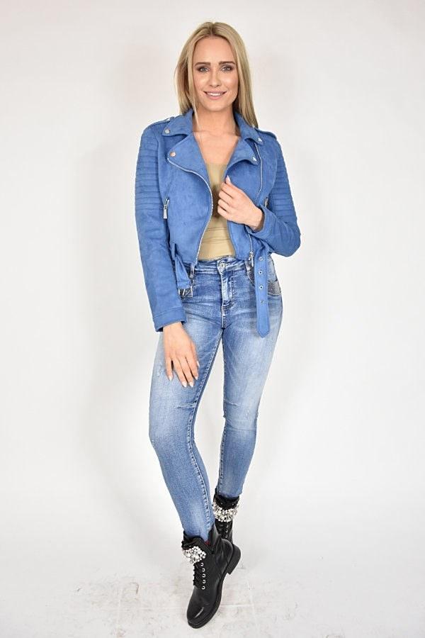 Ramoneska Rinascimento niebieska